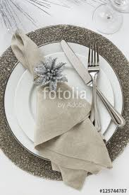 New Year S Eve Dinner Decoration by Festive Fancy Formal Fine Dining Christmas Or New Year U0027s Eve