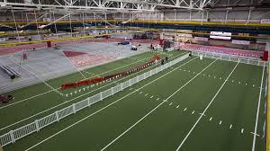 how big is 400 square meters iowa state athletics
