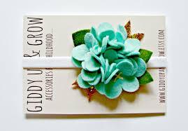 felt flower headband felt flower headband hydrangea fower headband summer wedding