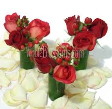 roses centerpieces wedding centerpieces whole blossoms