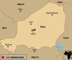 the united states of america and neighbouring countries map u s is building a 100 million drone base in africa