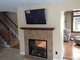 two sided gas fireplace interior design