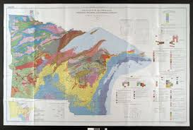 Map Wisconsin Dells by Geologic Map Of Wisconsin Wisconsin Map
