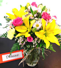same day delivery fiesta fields springtime v 1037 fiesta flowers