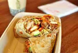 panda express orange chicken burritos are real and delicious