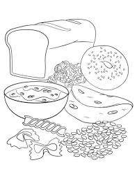healthy plate coloring pages more information