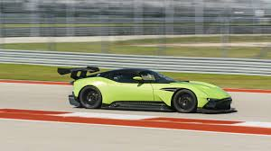 green aston martin we tackle circuit of the americas in an aston martin vulcan