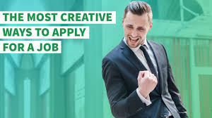 Best 20 Apply For Jobs The Most Creative Ways To Apply For A Job Youtube