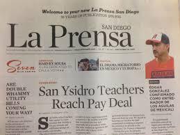 bilingual newspaper la prensa san diego changes hands kpbs
