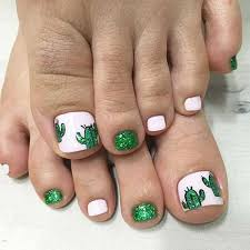 cute toe nail designs you should try in this summer