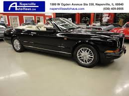 custom bentley azure 1996 bentley azure convertible for sale in naperville il on