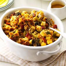 italian sausage stuffing recipes for thanksgiving bacon u0026 sausage stuffing recipe taste of home