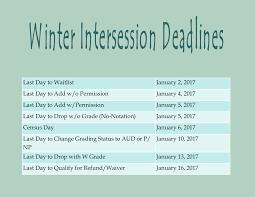 add drop timetable 2017 enrollment services