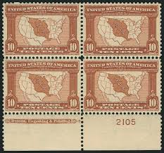Map Of The Louisiana Purchase by Us Stamp Value Scott Catalogue 327 10c 1904 Louisiana Purchase