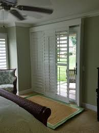 Bypass Shutters For Patio Doors Bypass Shutters For Sliding Glass Doors Cooler Than Blinds That