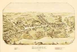 Madison Map Beautiful Vintage Map Of Madison Ct From 1881 Knowol