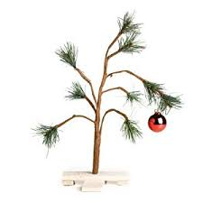 snoopy tree peanuts brown christmas tree 14 by product