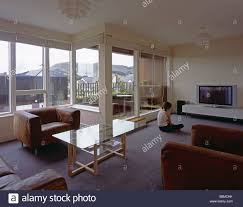 living room interior of princess gate housing project edinburgh