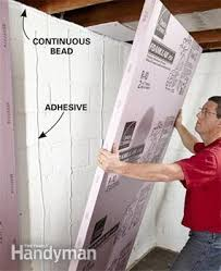 Best Way To Insulate Basement Walls by How To Finish A Basement Wall Basement Walls Basements And Walls