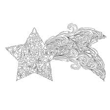 christmas card coloring pages christmas coloring page christmas star shooting star instant