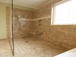bathroom decoration using single clear glass shower door including