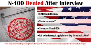 n 400 denied after interview immigration law of montana