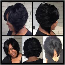 feathered bob weave hairstyles feathered bob hairstyles on long