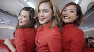 airasia uniform i can see her underwear and breasts airline passenger slams airasia
