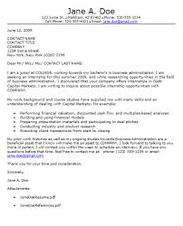 cover letter for inexperienced example resume cover letters for