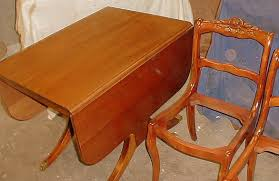 Mahogany Drop Leaf Table Cedarberry Furniture Refinishers Chair Caning Custom Furniture
