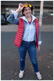marty mcfly back to the future costume theme me costume