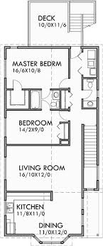 duplex floor plans for narrow lots the 25 best duplex house plans ideas on duplex house