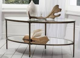 Mirror Glass Coffee Table by Coffee Table French Brass Mirror Glass Coffee Table By Willy