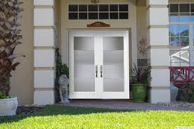 Front Door Windows Inspiration Inspiration Idea White Double Front Door With Modern Front Double