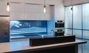 coloured acrylic kitchen splashbacks splash light blue m