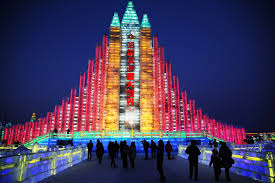 harbin snow and ice festival 2017 ice and snow festival in china brings winter wonderland to life