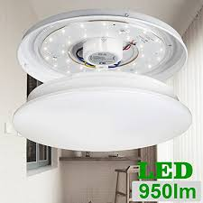 Round Fluorescent Light Fixture Le 12w 11 Inch Daylight White Led Ceiling Lights 80w Incandescent
