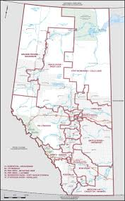 Map Of Edmonton Canada by Map Of Alberta Elections Canada Online