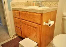 My Painted Bathroom Vanity Before - bathroom cabinet before and after painted oak bathroom cabinets