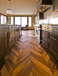 kentwood chevron herringbone walnut portland by area