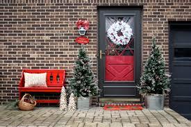 ravishing christmas outdoor front door inspiring design showcasing