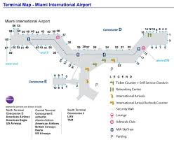 miami airport terminal map to restore the miami frankfurt route year