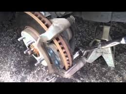 replacing brakes and rotors on 2003 toyota avalon