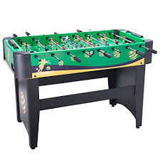 amazon com foosball table amazon com pinty foosball table soccer football table 48 x 32 x