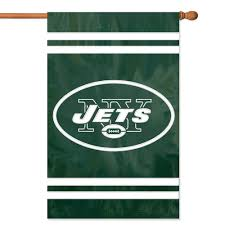 Decorative Sports Flags Amazon Com Party Animal New York Jets Banner Nfl Flag Sports