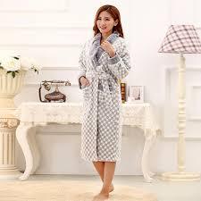 robes de chambre de marque anlisa marque vêtements d hiver peignoir femmes robe robe de