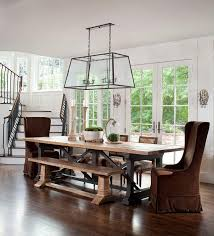 open dining room plans transitional dining room