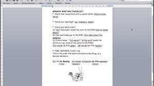 spanish letter layout junior cert junior cert german writing checklist youtube