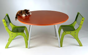 Kids Round Table And Chairs Modern Kids Table And Chairs Design Options Homesfeed