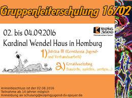 Dak Bad Homburg Juli 2016 Kolpingjugend Diözesanverband Speyer